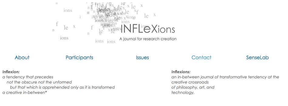 About Inflexions